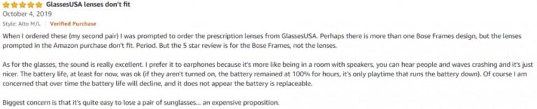 Bose Alto Amazon review 3