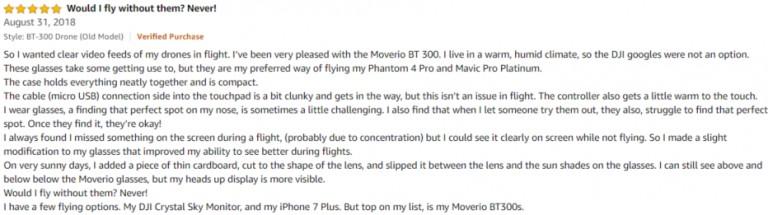 Epson Moverio Amazon review