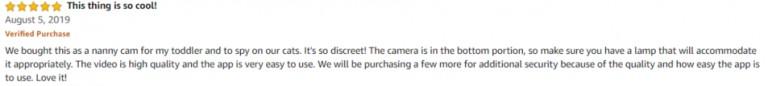 JBonest Amazon review 3