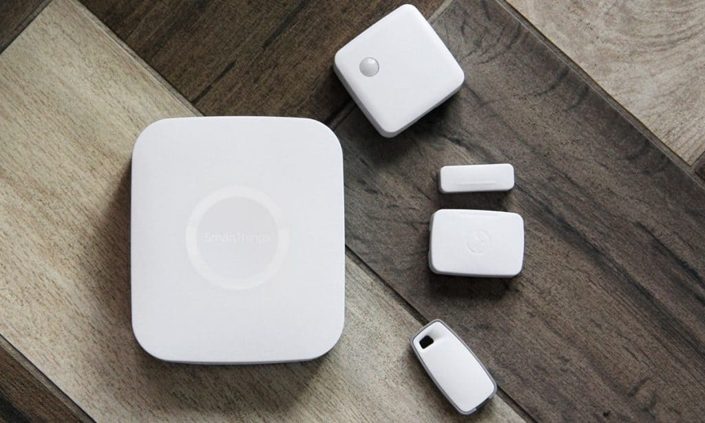 SmartThings on a table