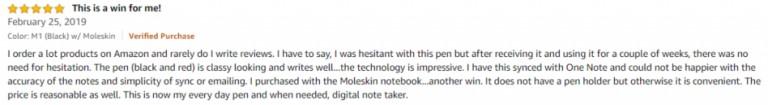 NeoLab Convergence Smartpen M1 Amazon review