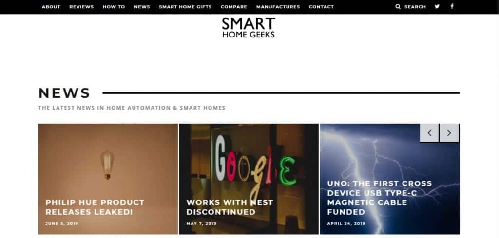 Smart Home Geeks