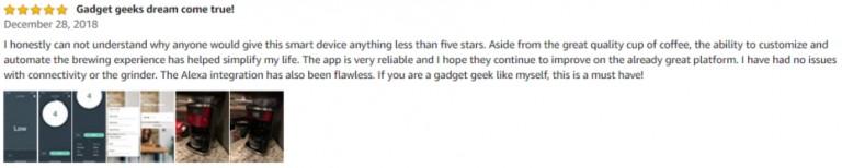 Smarter SMC01 iCoffee Amazon review 2