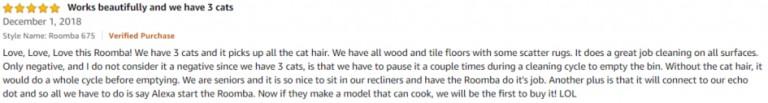 iRobot Roomba 675 Amazon review