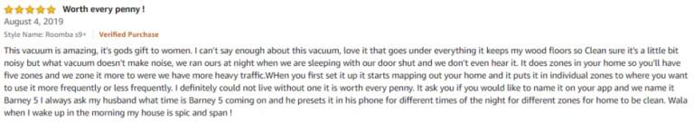 iRobot Roomba S9+ Amazon review 2