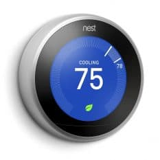 Picture of the Nest Leaning thermostat