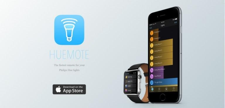HueMote Homepage