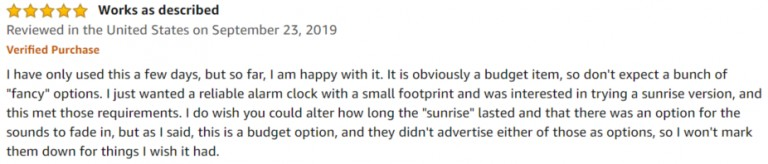 TITIROBA Wake Up Amazon review 2