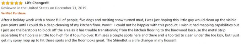 iLife Shinebot W400 Amazon Review 3