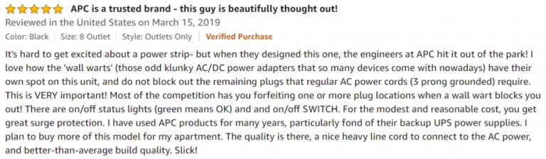 APC Smart Plug amazon review