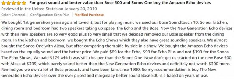 Amazon Echo Plus Amazon review 3