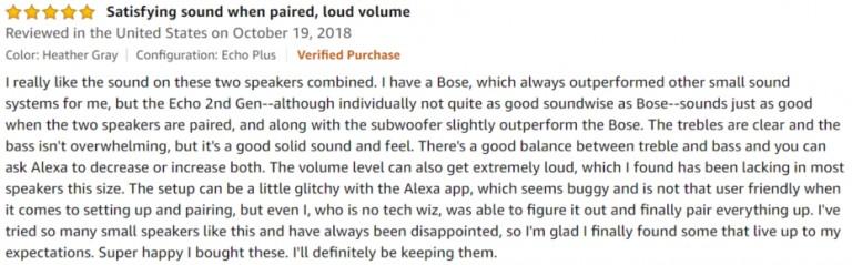 Amazon Echo Plus Amazon review