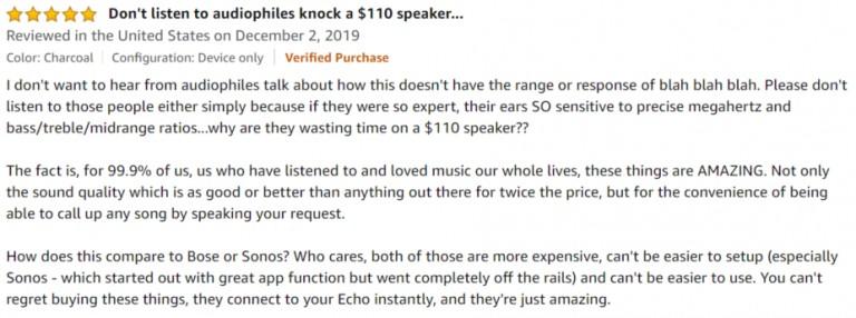Amazon Echo Sub Amazon Review 2