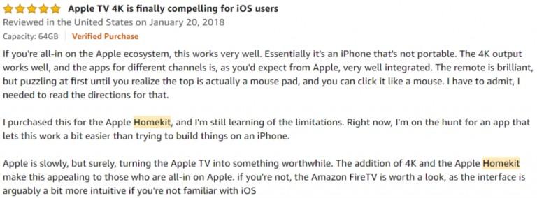 Apple TV 4K Amazon review