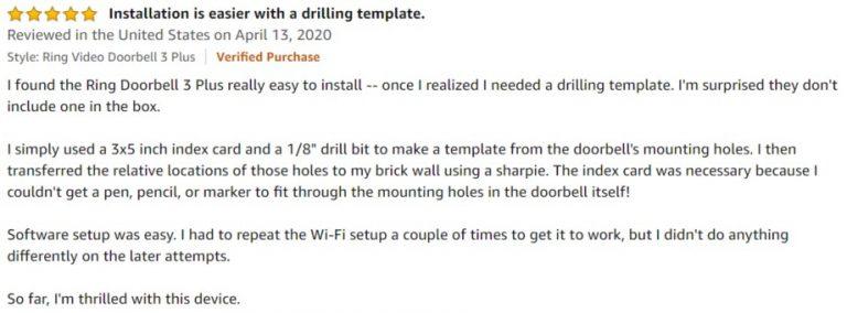 Ring-Doorbell-3-Amazon-review