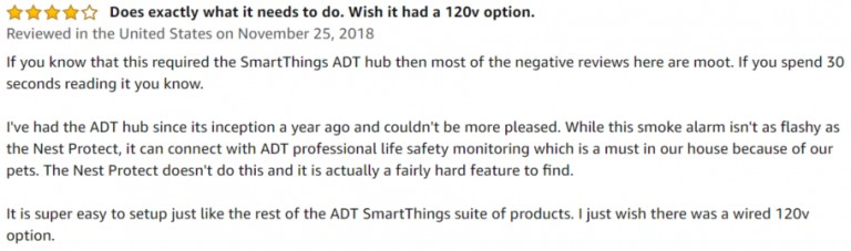 Samsung Smart Alarm Amazon review 3