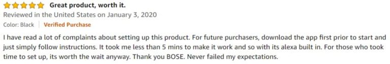 Bose Home Speaker 300 Amazon review 6