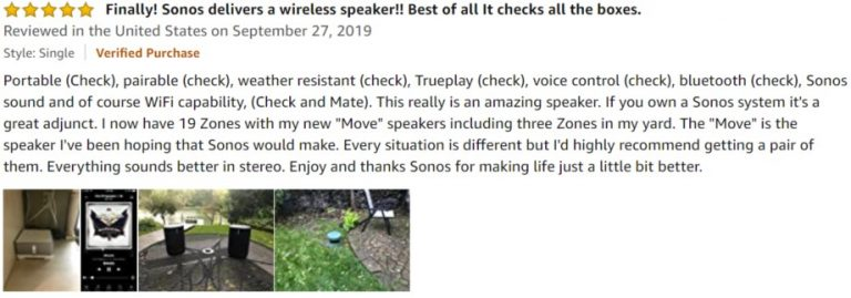 Sonos Move Amazon review 4