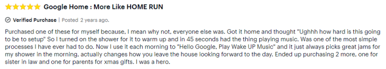Google Home Mini Best Buy review 2