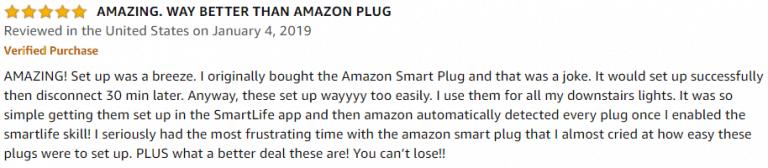 Gosund Mini WiFi Outlet Amazon review 2