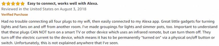 Gosund Mini WiFi Outlet Amazon review