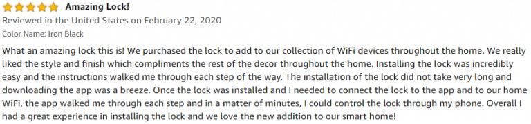 Kwikset Halo Smart Lock Amazon review 3