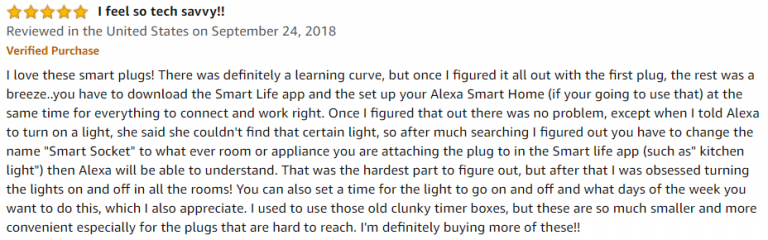 Teckin Mini Smart Outlet Amazon review