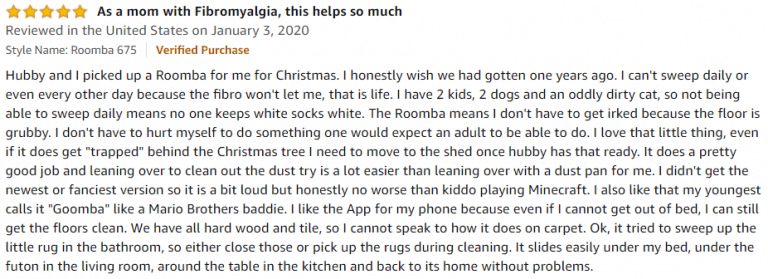 iRobot Roomba 675 Amazon review 6