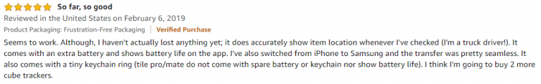 Cube Amazon Review 2