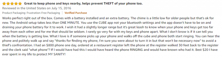 Cube Amazon Review 3