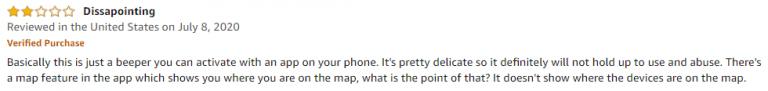 Jackky Key finder Amazon Review 3