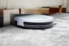 Robot Vacuum On Carpet