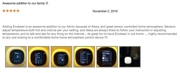 Ecobee4 Home Depot Review